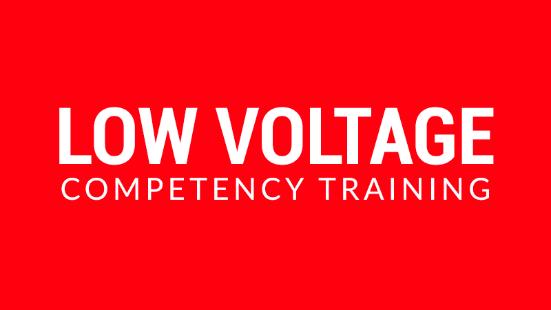 Low Voltage Competency Training: Virginia