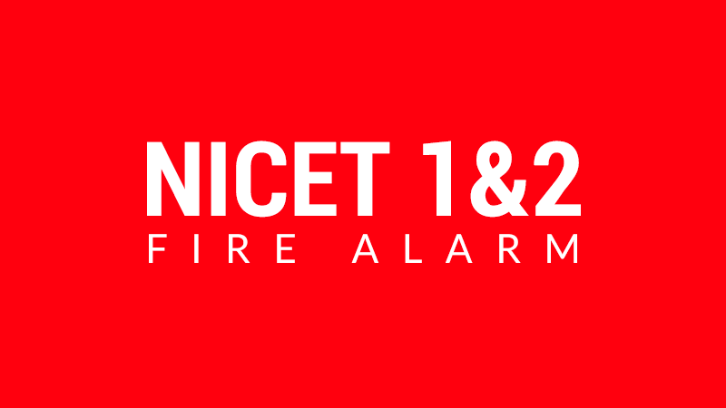 NICET 1&2 Fire Alarm: New Jersey