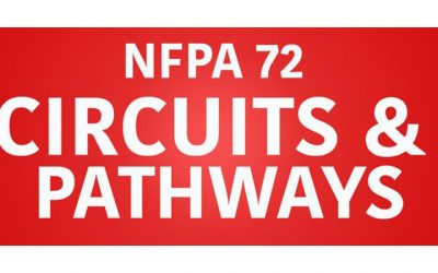 NFPA 72 circuits and pathways