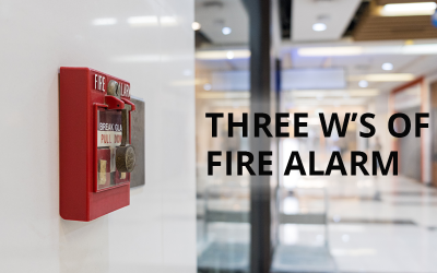 The Three W's of Fire Alarm