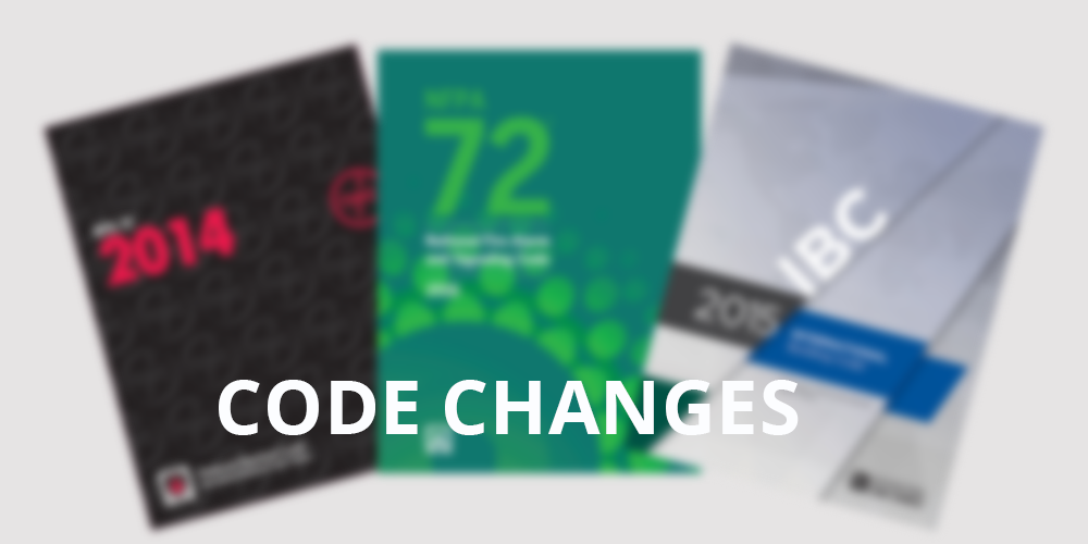 Code Changes – NFPA 72, IBC, and NFPA 101