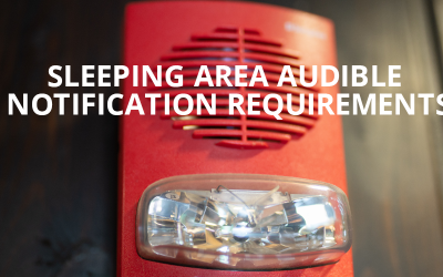 Sleeping Area Audible Notification Requirements