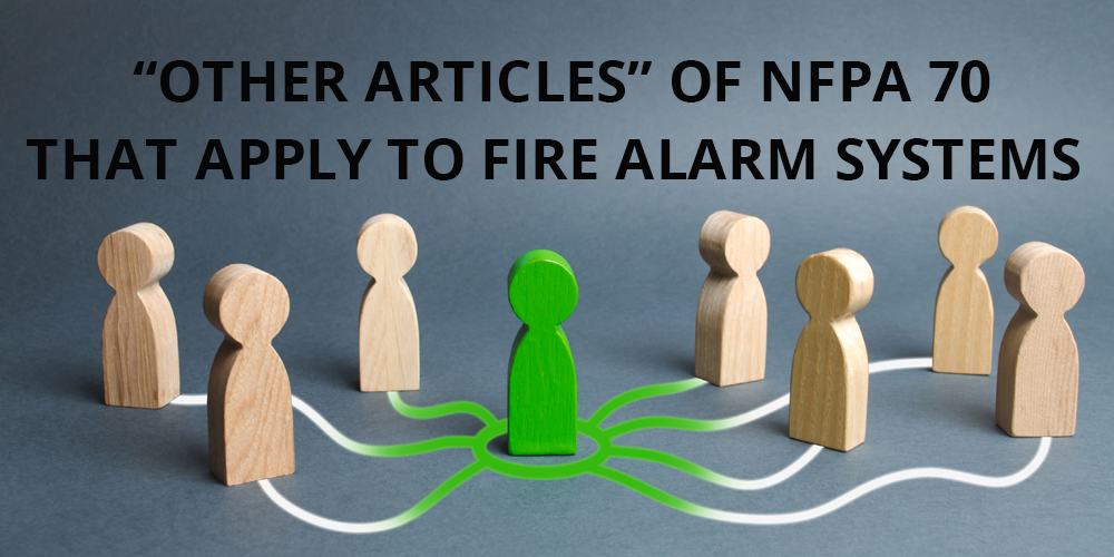 """Other Articles"" of NFPA 70"